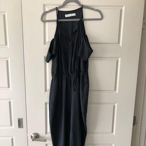 Abercrombie Black Chiffon jumpsuit